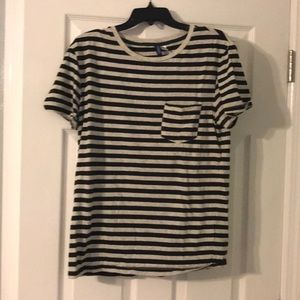 Other - Men's h&m divided stripe T-shirt. Size medium